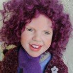 Веселая девчушка Jojannе от Zwergnase с потрясающей улыбкой! Новая.