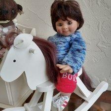 Малыш Bubi Rosmarie Anna Müller для Мастерпис с лошадкой