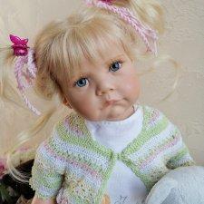Малышка Spatzchen(Шпацхен) от Hildegard Gunzel из коллекции 2006 года.Рассрочка!