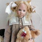 Редкая блондинка с курносым носиком и веснушками Carinai от Hildegard Gunzel и WPM. Биггидур.