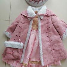 Оригинальная одежда от Zawieruszynski.Пальто,платье, подштанники, шапочка сумочка.