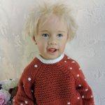 Очаровательный белокурый Малыш Ola от Sissel Skille для Gotz, 2003