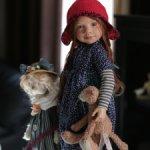 Шкодная конопатая Rickstine с котиком от Zwergnase. Новая. 2017 год.