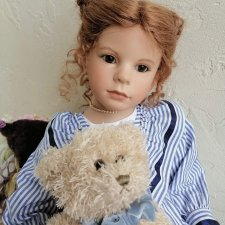 Красавица Anna Lee от художника Vera Scholz и Waltershäuser Puppenmanufaktur (WPM)
