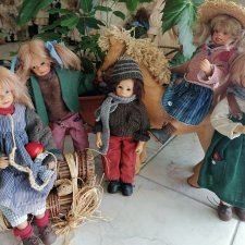 "Мои дети тролли леса""Children of the Troll-forest"" от Susi Eimer"