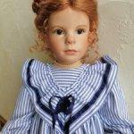 Красавица Anna Lee от художника Vera Scholz и Waltershäuser Puppenmanufaktur (WPM). Новая