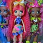 Три девочки Cave Club,одним лотом