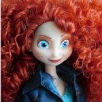 Новая кукла Мерида Дисней