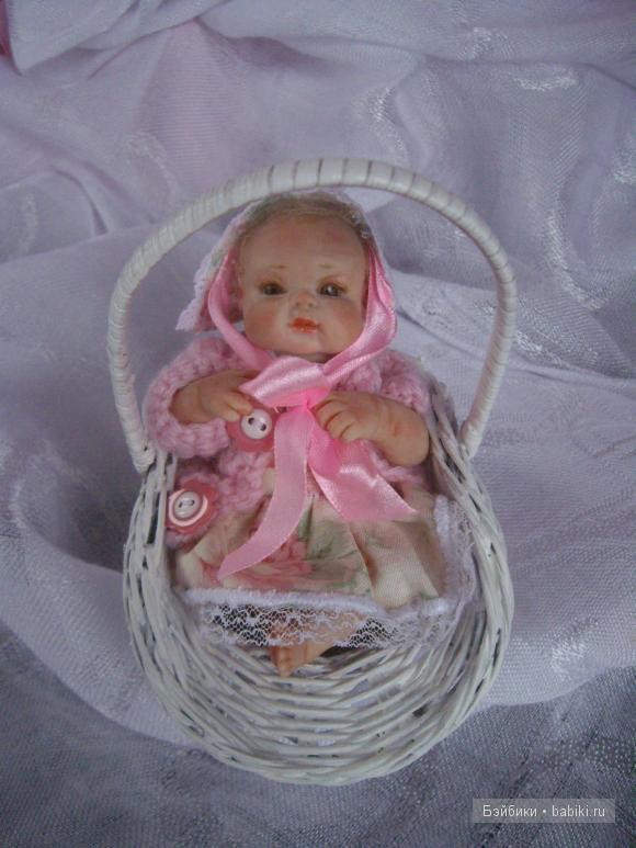 Малышка ООАК Тэри. Авторская кукла Натальи Игнатьевой