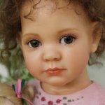 Фарфоровая кукла Rosemary от Ann Timmerman