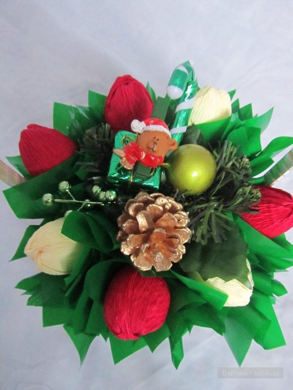 Букеты из конфет от Катерины Осиповой