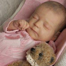 Малышка Амелия. Кукла реборн Катерины Осиповой-Коняевой