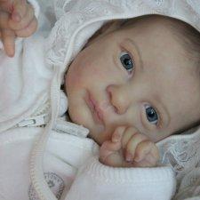Малышка Тея. Кукла реборн Катерины Осиповой-Коняевой