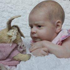 Малышка Машенька.Кукла реборн Катерины Осиповой-Коняевой