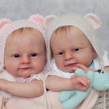 Прототипы Марк и Мэри от Ольги Ауэр ( Marc and Mary by Olga Auer). Куклы реборн Олеси Венгер