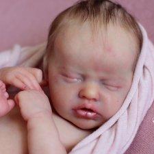 Моя крохотуля Инди. Кукла реборн Олеси Венгер