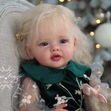 моя прекрасная Бетти от Натали Блик. Кукла реборн Олеси Венгер