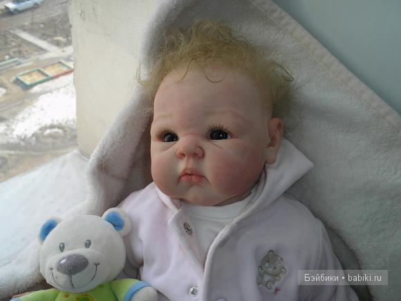 Кукла реборн от Светланы Преображенской Полинка