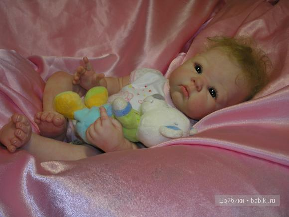 Полинка Кукла реборн от Светланы Преображенской