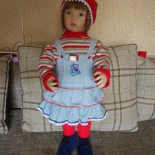 Кукла Waltraud Hanl от Ashton Drake Galleries. 75 см