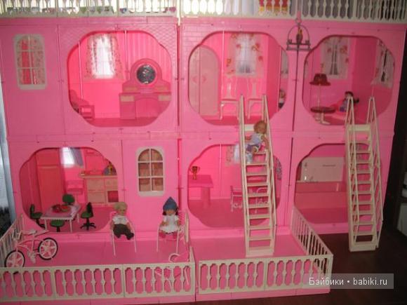 дом для мини беби бон