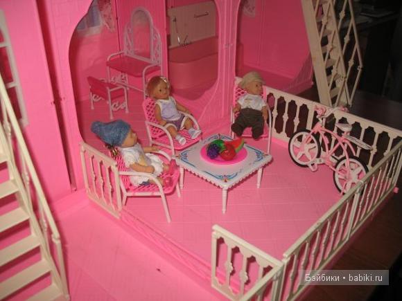 дом для mini baby born)