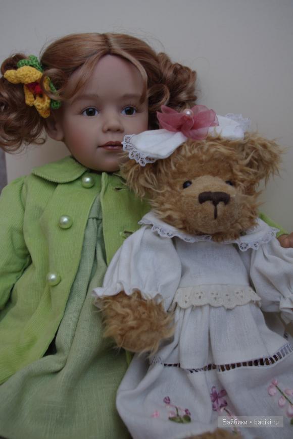 коллекционная кукла Fanny by Sissel B. Skille