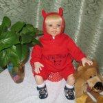Как я переделала куклу Никласа Габи Жак
