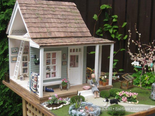 Самые шикарные и реалистичные кукольные дома. Кукольная миниатюра