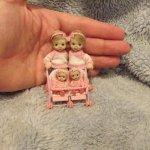Микро-куколки Karen's Mini Babies. Ах эти крошки