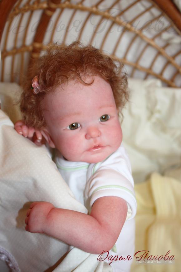 Кукла реборн Lidy от Didy Jacobsen - работа Дарьи Пановой