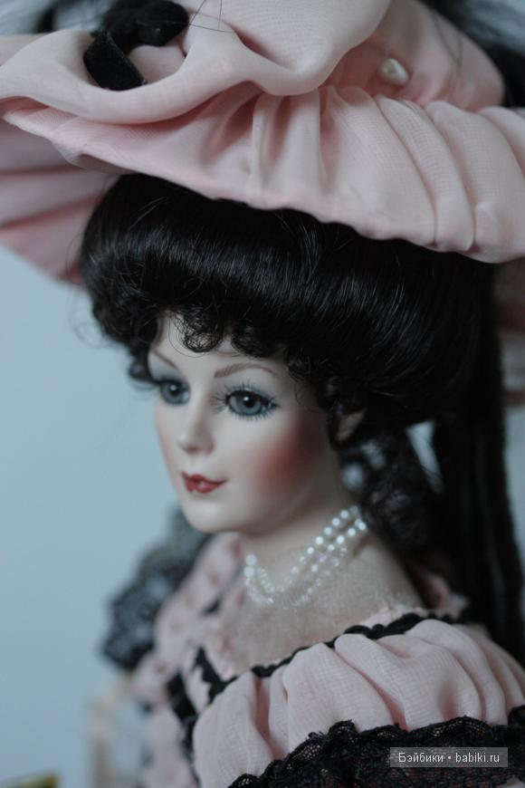 Victoria, Coca Cola, Franklin Mint, porcelain doll