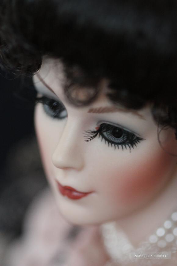 Victoria, Coca Cola, Franklin Mint, porcelain doll