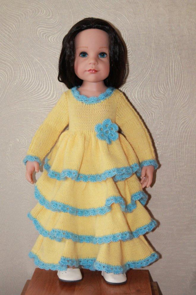 Новое платье для куклы Готц