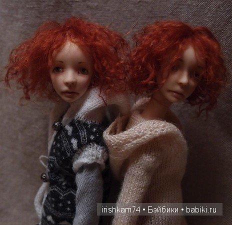куклы Натальи Саморуковой, фото автора