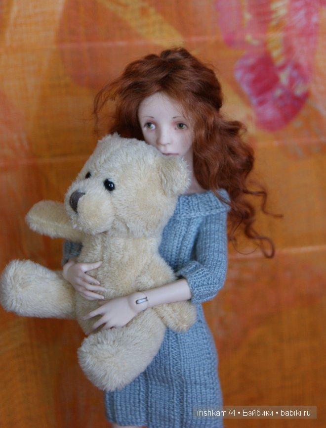 шарнирная кукла Н.Саморуковой