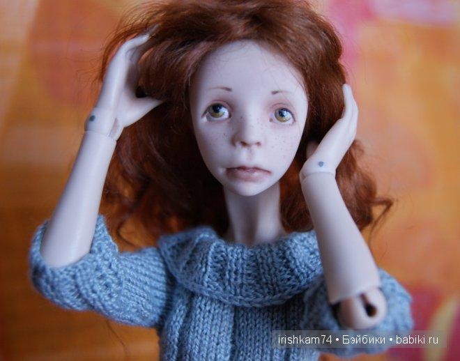 авторская кукла Н.Саморуковой