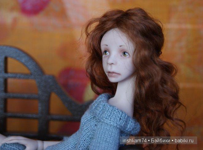 авторская шарнирная кукла Натальи Саморуковой