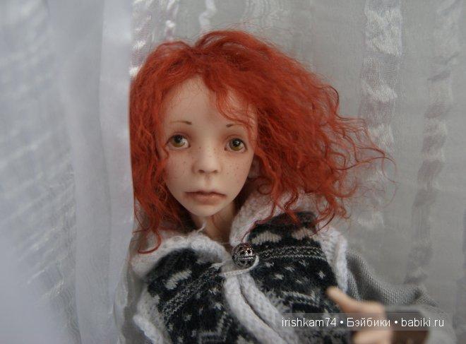 авторская шарнирная кукла Н.Саморуковой