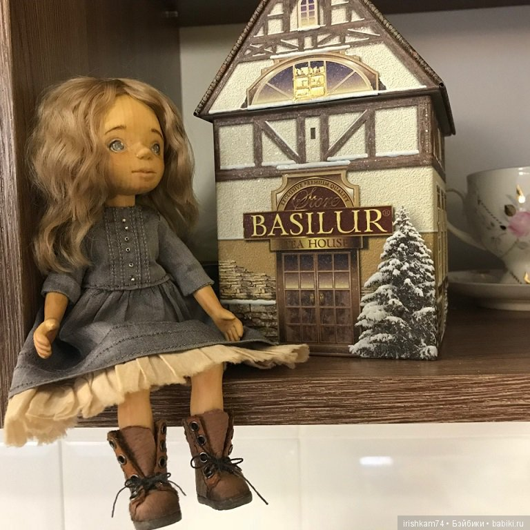 WoodenToy, авторская деревянная кукла Ксении Мальковской