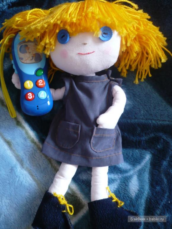 японские куклы из ткани