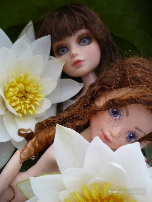 куклы летом