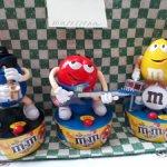 Оркестр из 3 игрушек m&m's эмэмдэмс