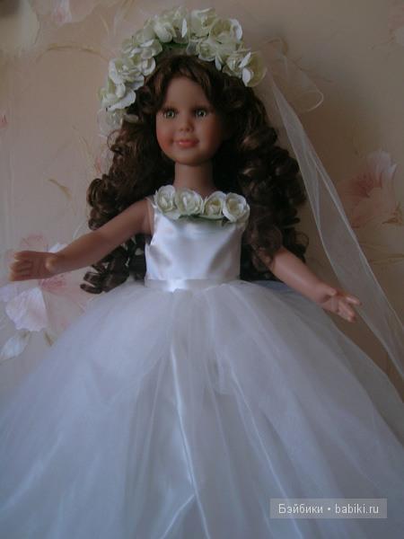 Ремонт куклы невеста