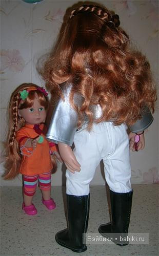 Рыжий-рыжий-конопатый! Мои рыжие куклы