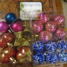 игрушки для небольшой ёлочки