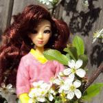 Джукопрогулка по саду. Куклы Джуку