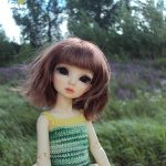 Навеяно августом. Belina от  Maskcat Doll.