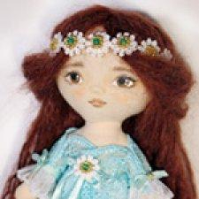Текстильные куклы-примитивчики