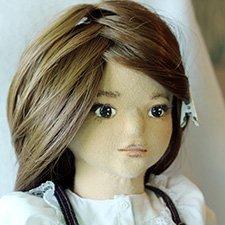 Алиса - текстильная куколка